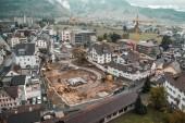 Vogelperspektive Stiftung Acherhof Schwyz