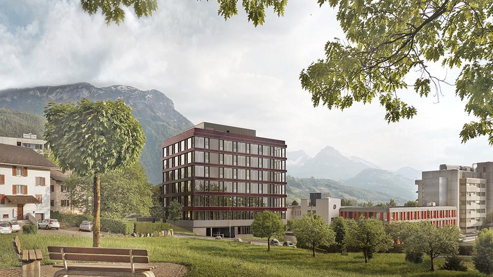 Spital Schwyz Haus M und P