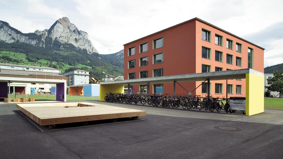 Erweiterung Mittelpunktschule Schwyz
