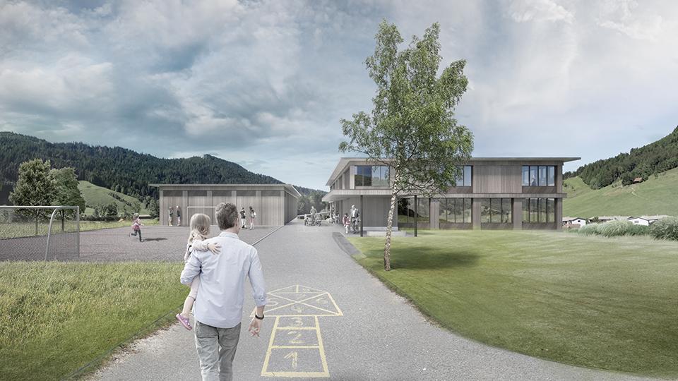Wettbewerb Schulhaus Trachslau