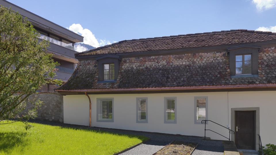 Pavillon Ost <br/> Palais Friedberg Schwyz