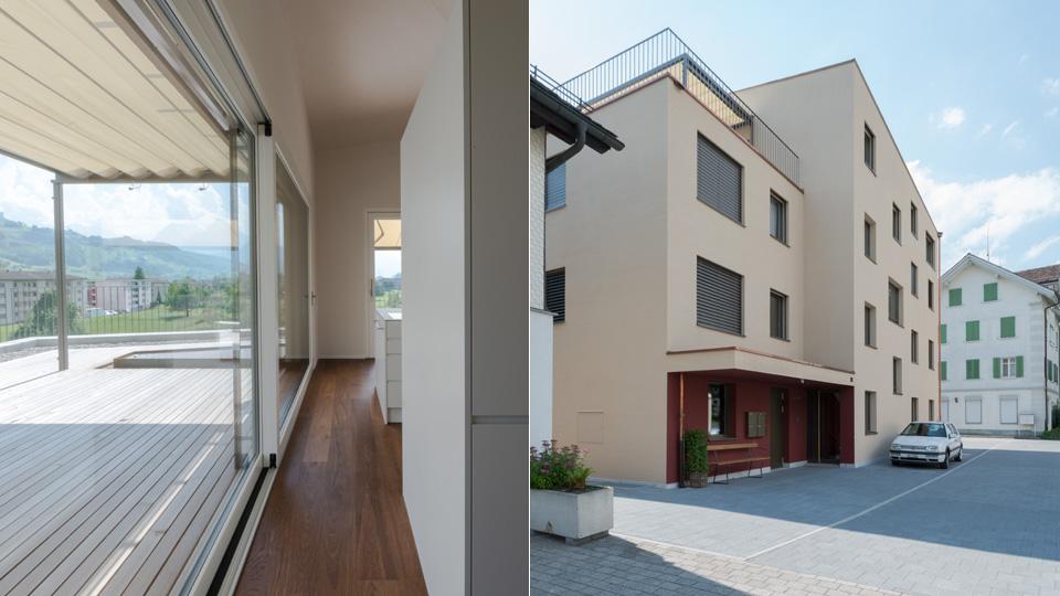 Neubau Mehrfamilienhaus Gasser, Ibach